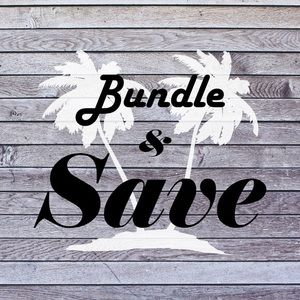BUNDLE 2 OR MORE ITEMS, GET 15% OFF